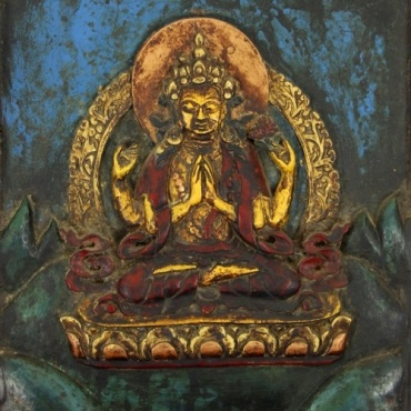 Tableau de Bouddha Compassion Chenrezig