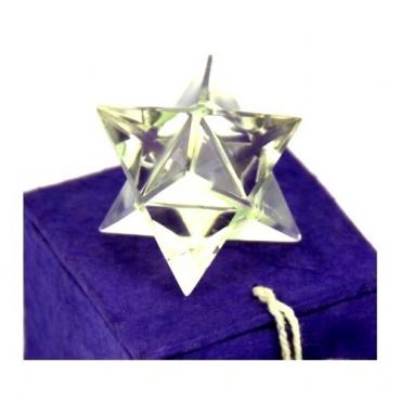 Merkaba - Tétraèdre cristal de Himalaya