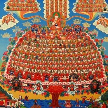 L'arbre du Refuge des Gelukpa