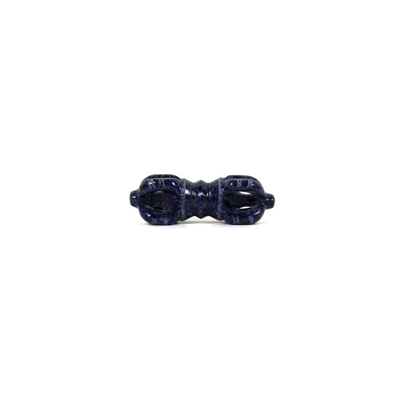 Dorje - Vajra - Foudre en Lapis Lazuli