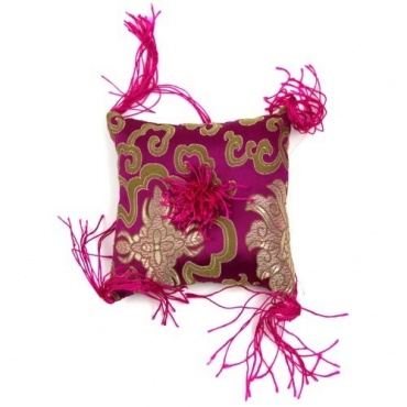 Coussin bol chantant Rose