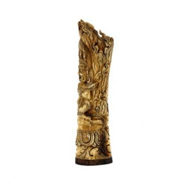 Statue de Panjara Mahakala en os