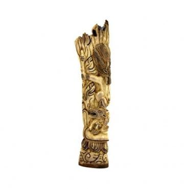 Statue du Seigneur de la Mort Yamaraja