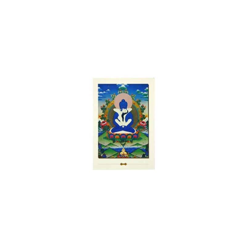 Carte Postale Samantabhadra