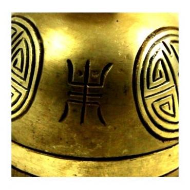 Cloche de Yack  tibétaine