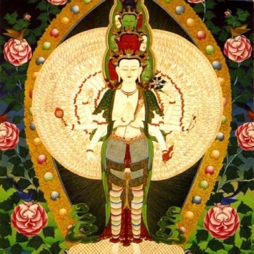 Carte Image de Avalokiteshvara