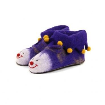 Pantoufles enfants violet 18 au 31