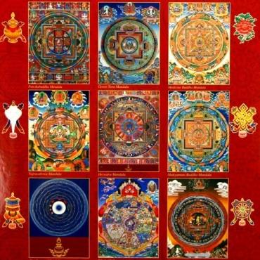 Calendrier Tibétain 2018 - Chien de Terre