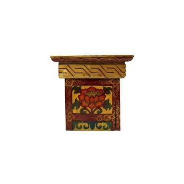 Table d'étude bouddhiste Lion des Neiges