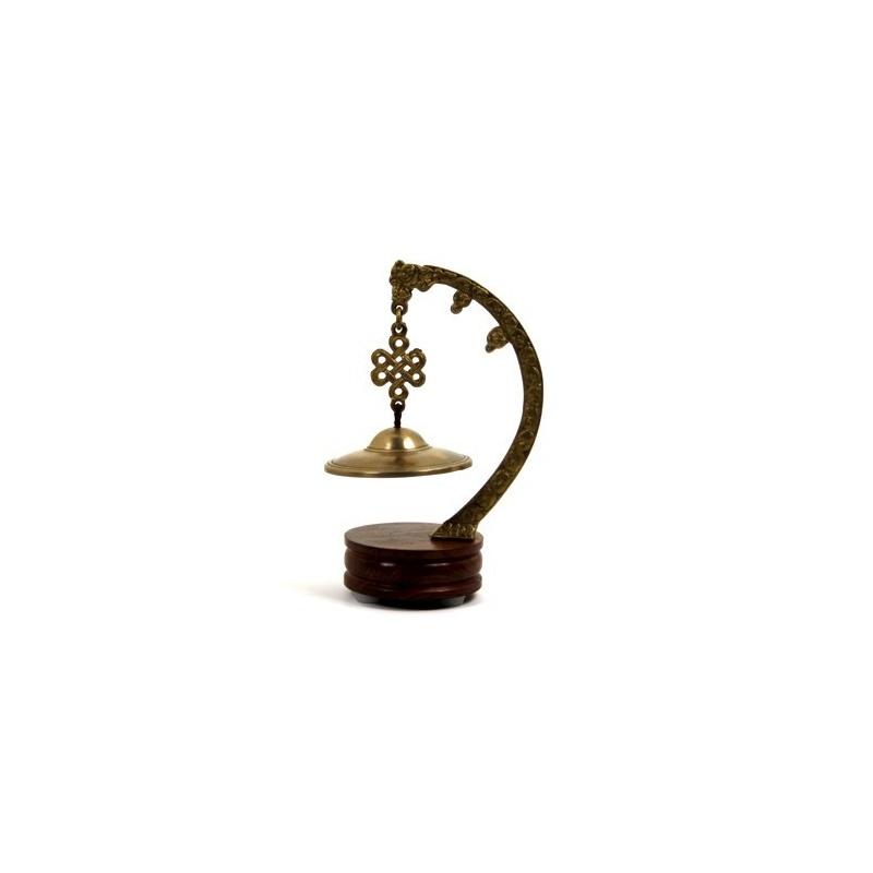 Cymbale Tibétaine clochette sur socle