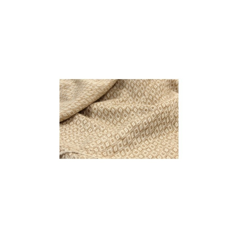 Couverture châle Cashmere véritable losange