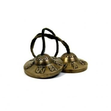 Cymbales - Ting-sha en bronze AUM