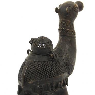 Chameau en métal - Népal