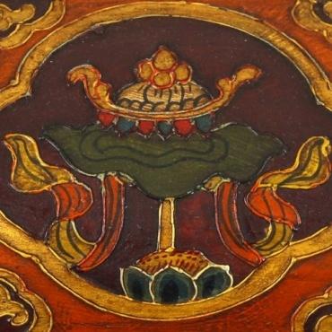 Petite malle aux Trésors lotus et Parasol