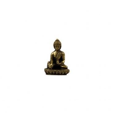 Mini Statue du Bouddha Médecine Sangye Menla