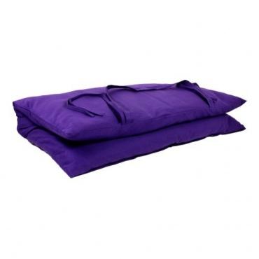 Zabuton - Coussin Carré de méditation violet