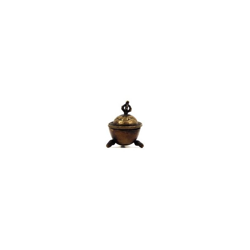 Petit Kapala bouddhiste - Coupe crânienne tibétaine