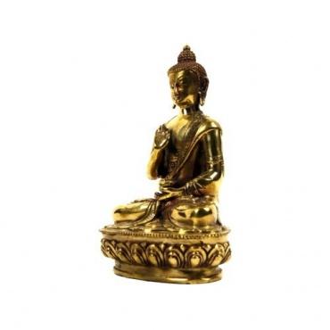 Statue Bouddha Mudra de la Protection