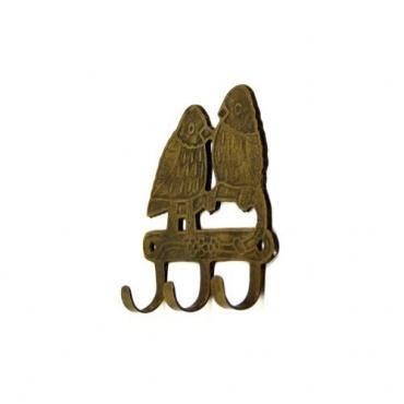 Porte-manteau Patère Crochet  oiseaux en métal