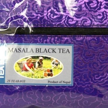 Thé aux épices Népal - Tchai Masala en sachet