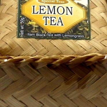 Thé Népalais emballage cadeau Ilam - Citronelle - Vert
