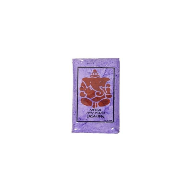 Petit bâtons encens naturel Jasmin - 100 pièces