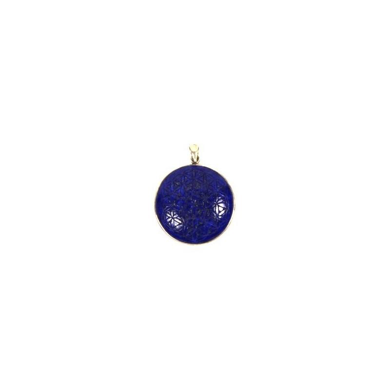 Fleur de Vie en Lapis lazuli