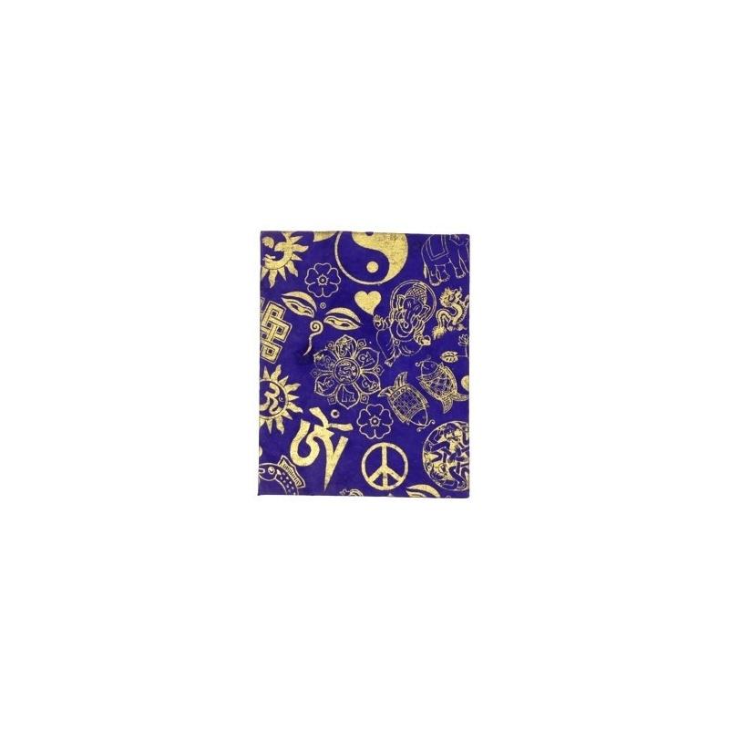 Carnet  Cahier Porte-bonheur violet