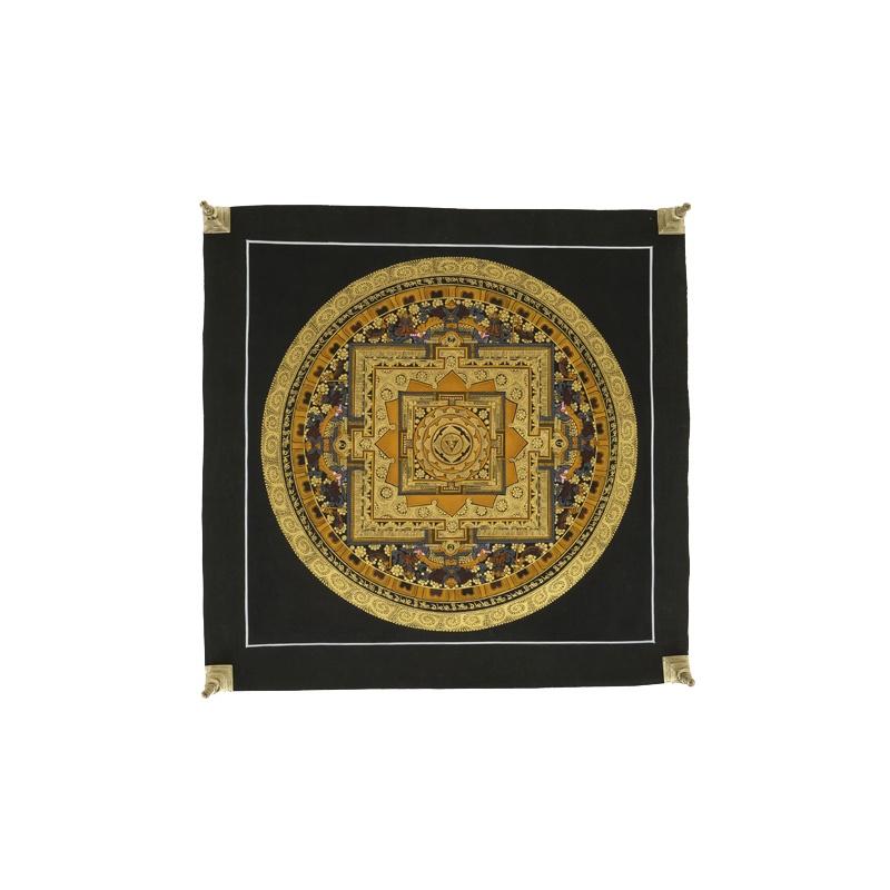 Mandala de la Roue Tangka sans tissu