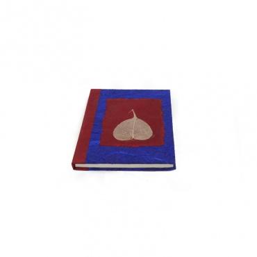 livret intime calepin A5 papier précieux népal