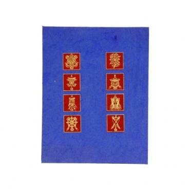Cahier méditation A5 papier précieux