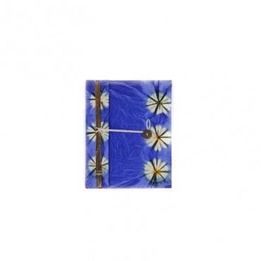 carnet livret cahier de note journal intime bleu violet A5