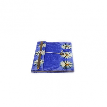 cahier carnet livret journal intime bleu violet A5