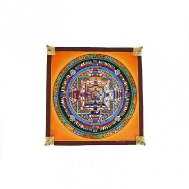 tangka kalachakra peinture bouddhiste