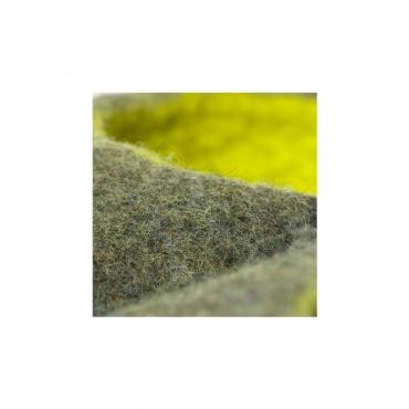 pantoufle brun vert militaire en laine taille 38 à 45