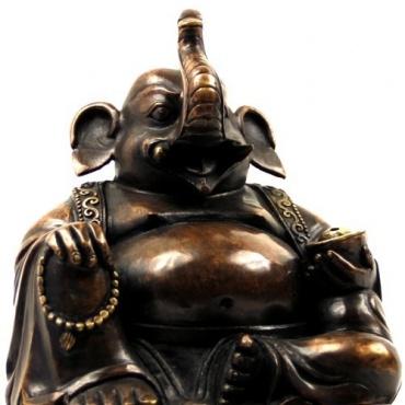 Statue Brûle Encens Ganesh