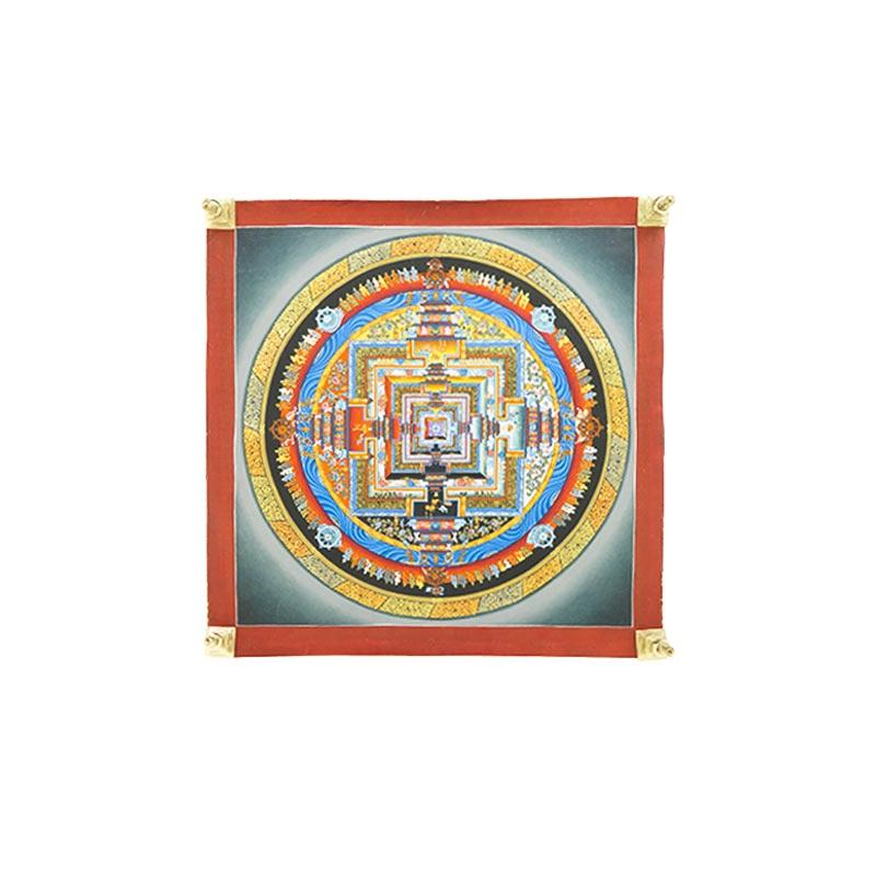 tangka mandala peinture bouddhique bouddhiste