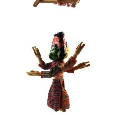 Marionnette Shiva Hanuman