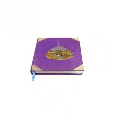 cahier de souvenirs carnet de note rose violet