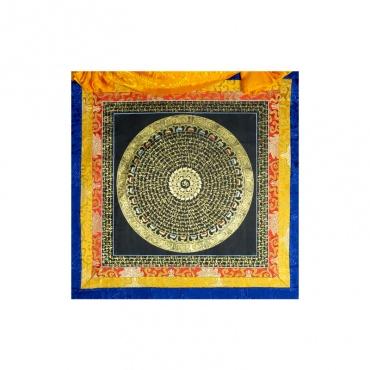 peinture traditionnelle tibétaine