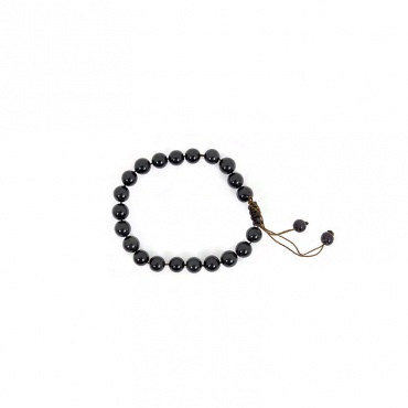 bracelet pierre de protection obsidienne