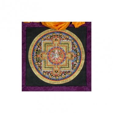 tanghka tangka mandala peinture bouddhiste
