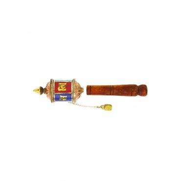 petit moulin tibétain pour les prières