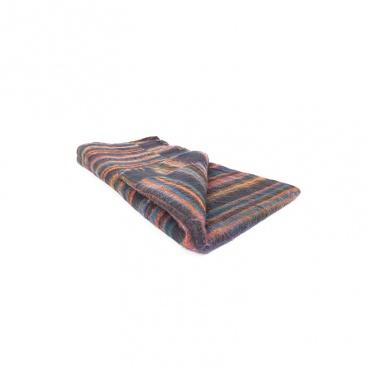 couverture châle méditation laine synthétique