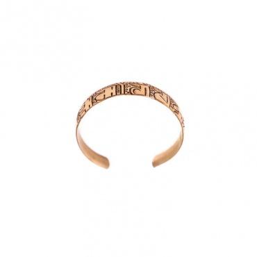 bracelet cuivre bouddhiste