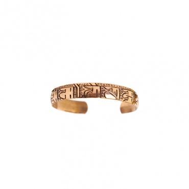 bracelet homme femme cuivre bouddhiste