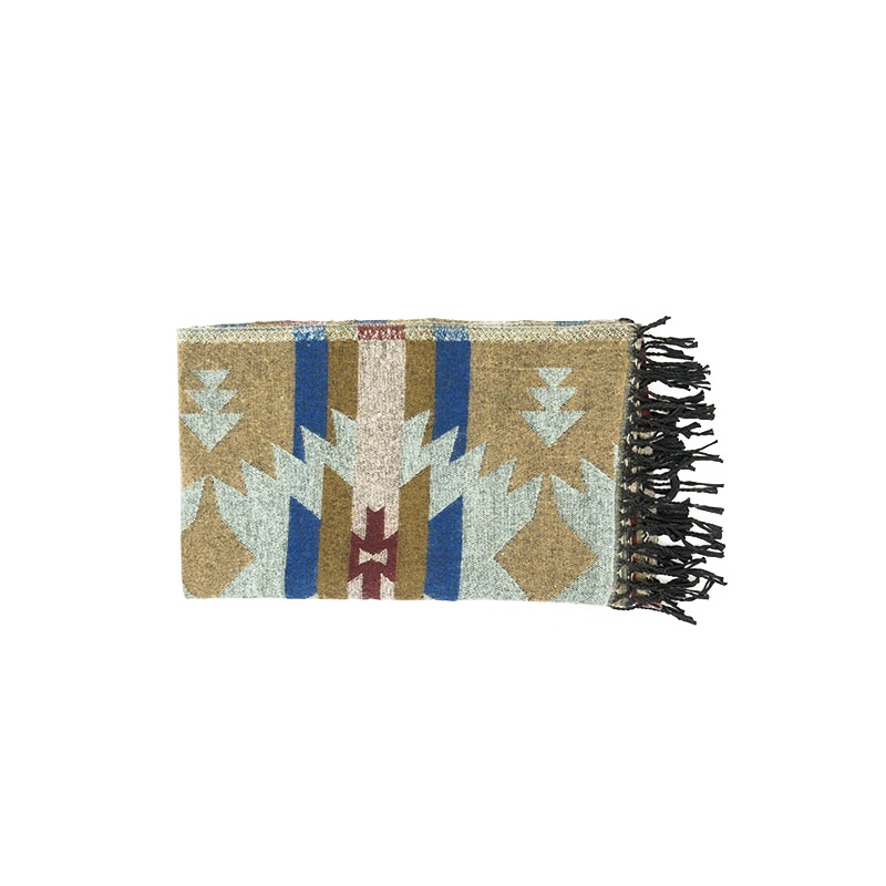 châle couverture écharpe motifs indiens