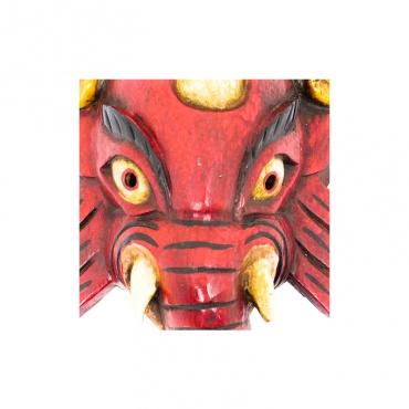 masque de ganesh protection et porte-bonheur