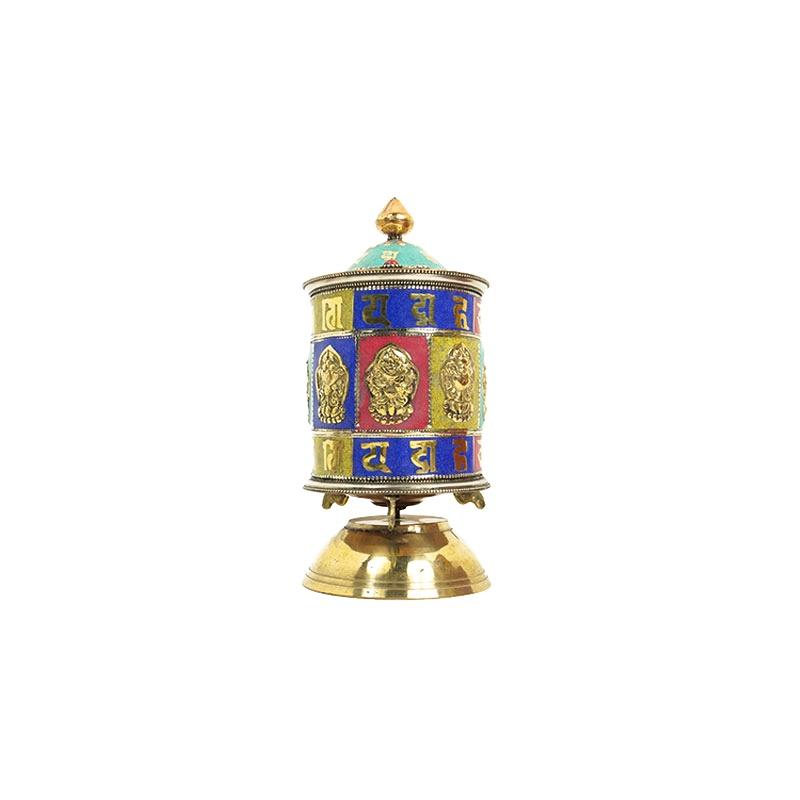 moulin prières bouddhiste tibétain