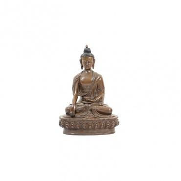 bouddha prenant la terre à témoin de son éveil
